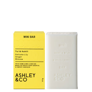 Tui & Kahili Mini Bar, Soap Bar