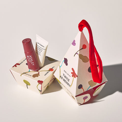 Twice as Merry, Lip Punch Duo - 100% Natural Lip Balms