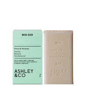 Vine & Paisley Mini Bar, Soap Bar