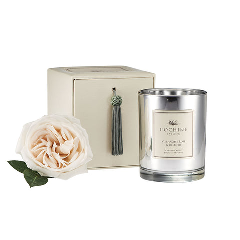 Cochine Vietnamese Rose & Delentii Candle
