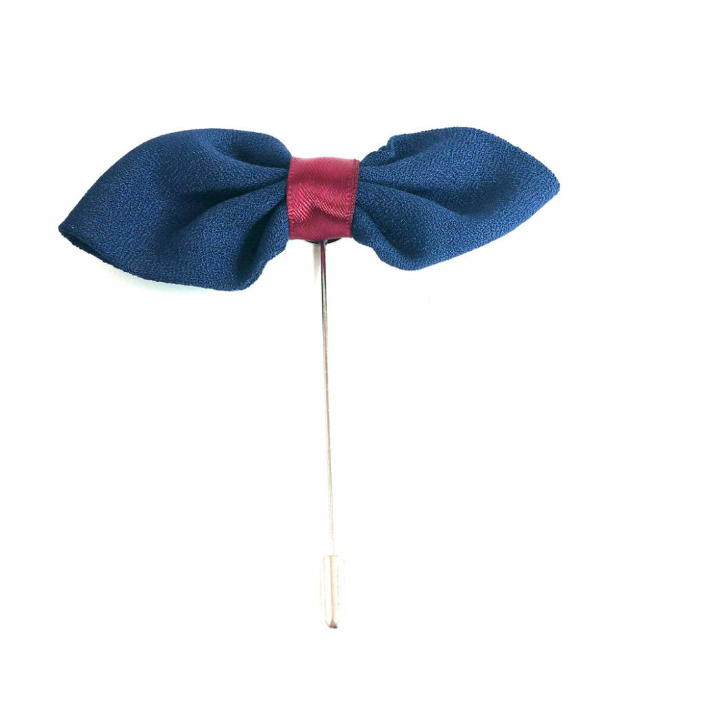 Lapel Bow - French Thread