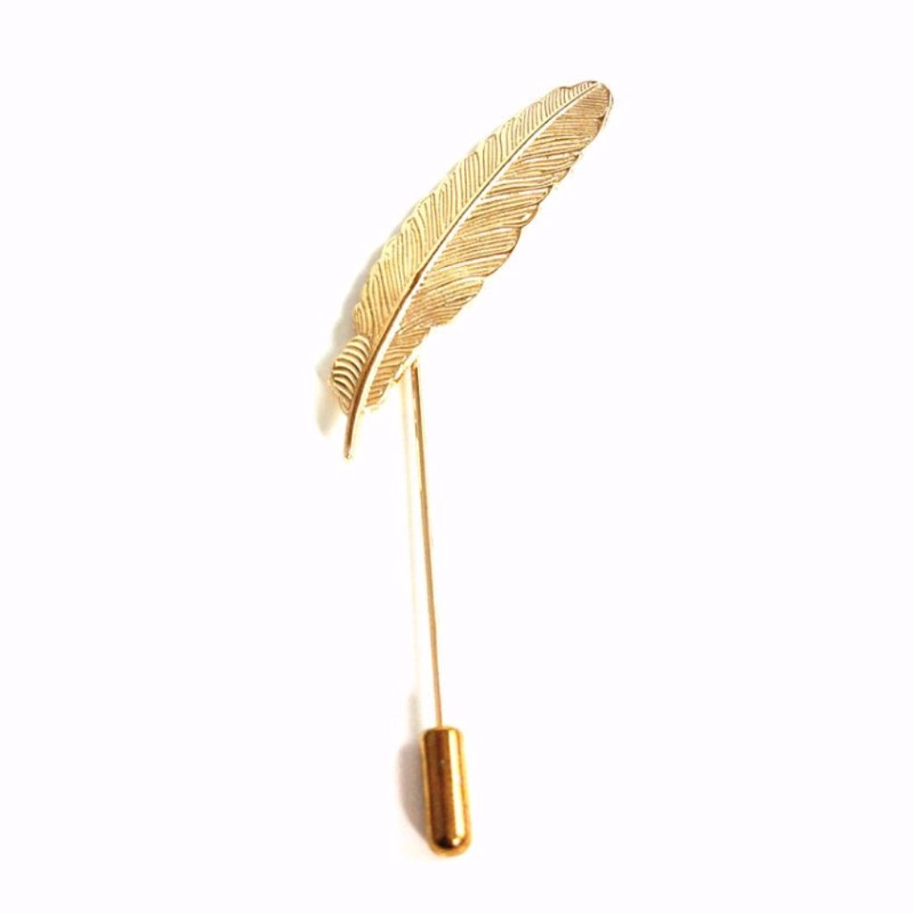 Feather Pin - French Thread