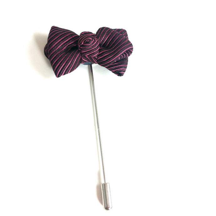 Lapel Bow Tie - French Thread