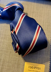 Navy Classic Stripes - French Thread