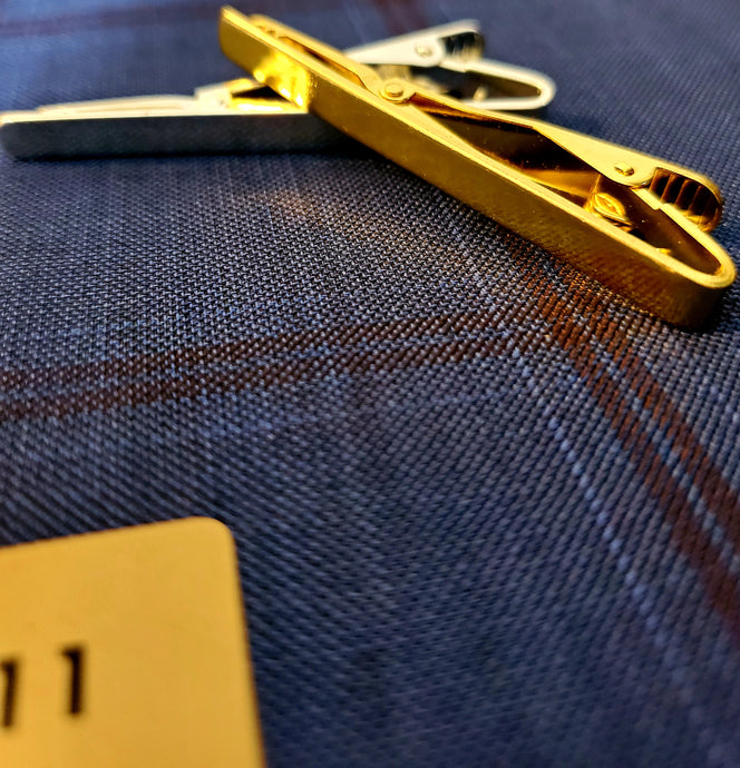 Classic Tie Clip - French Thread