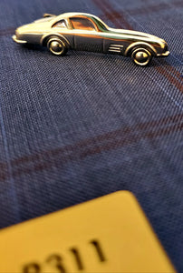Roadster Tie Clip - French Thread