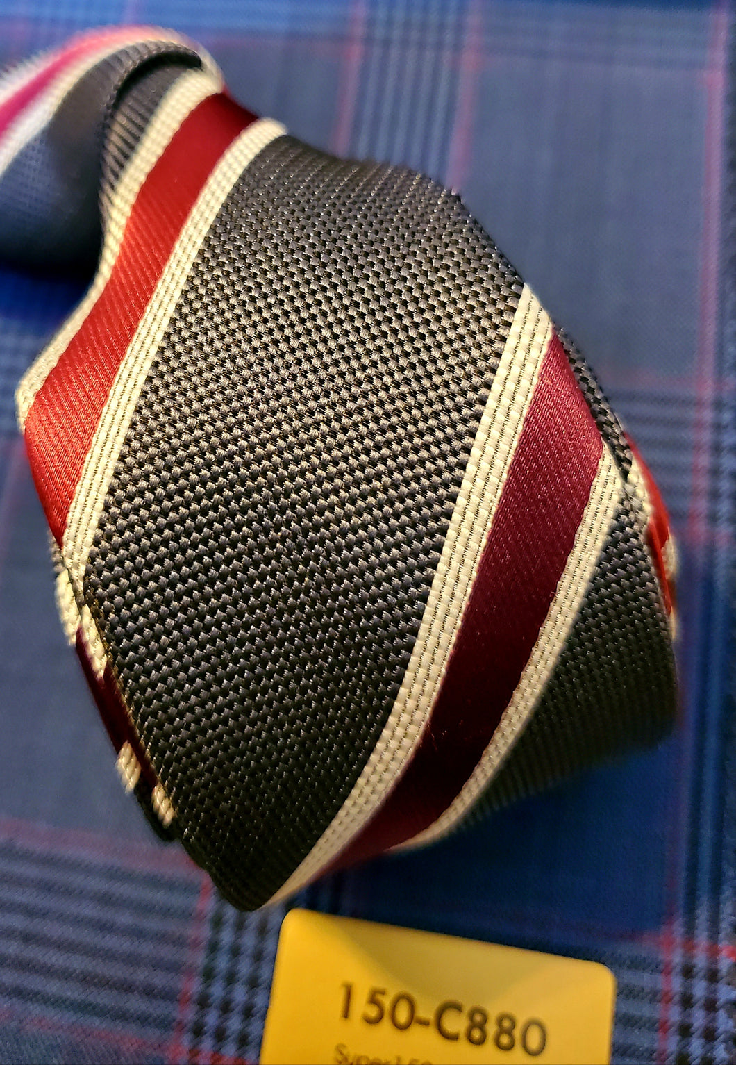 Candy Cain Stripe - French Thread