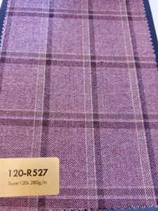 Super 120's Suit Fabrics - French Thread
