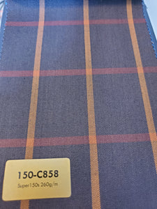 Super 150's Suit Fabrics - French Thread