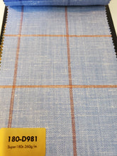 Load image into Gallery viewer, Super 180's Suit Fabrics - French Thread