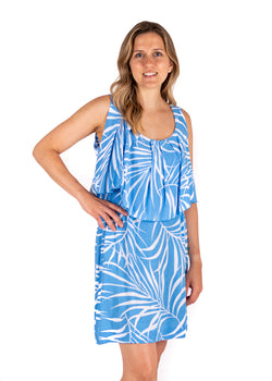 Tybee Island Clothing Co: Dorothy | Sundress in Blue 2020 Collection
