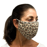Cotton Face Mask Leopard