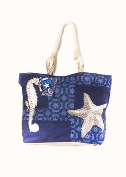 Paul Brent: Deep Blue Sea | Large Tote