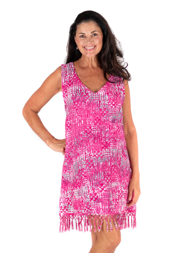 Batik Bali: Riley | Cover Up & Tunic l Pink 2020 Collection