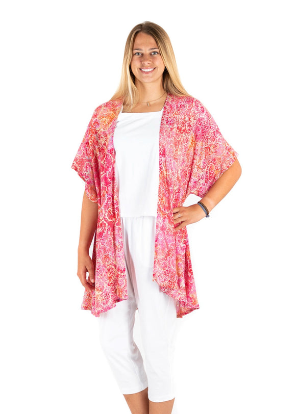 Batik Bali: Nicole | Pink Cover Up Cardi 2020 Collection