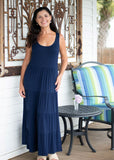 Blue Water: Jessica | Maxi Dress in Navy 2021 Collection