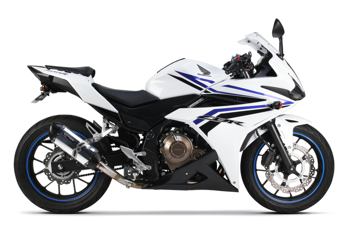 Honda CBR500R S1R Slip-On System (2016-2017) - Two Brothers Racing - TBR