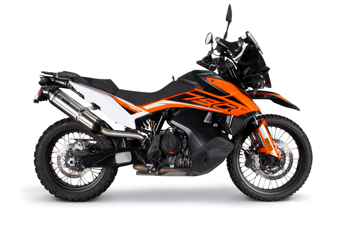 KTM 790 Adventure (19+) S1R Slip-On System 005-5230409-S1B