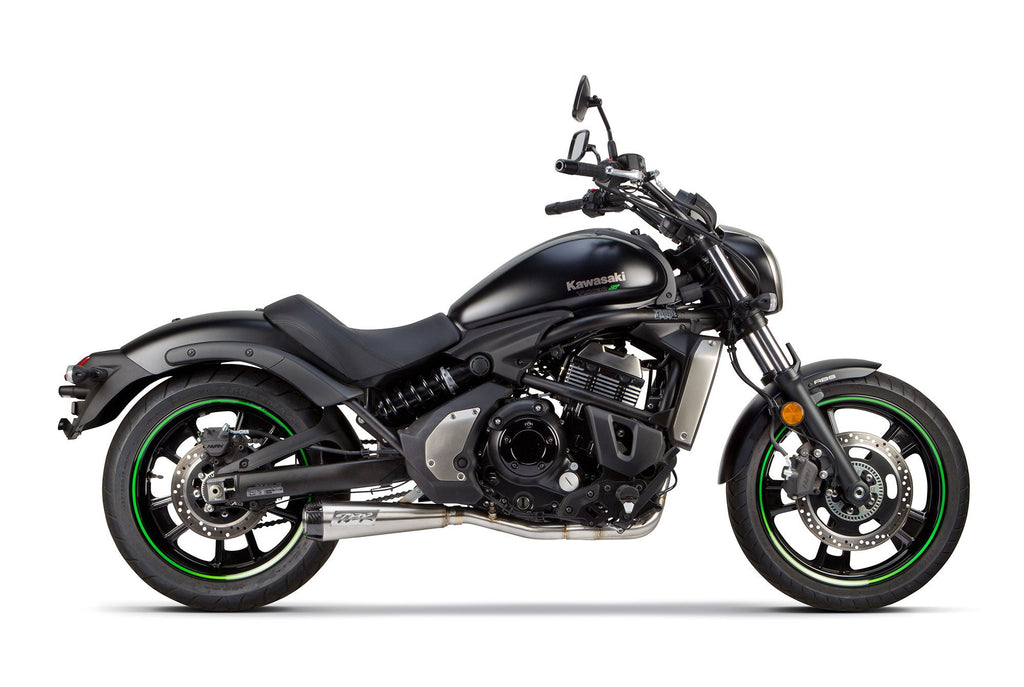 Kawasaki Vulcan-S (2015-2020) Comp Black Full System - Part Number 005-4200199-B - Two Brothers Racing - TBR