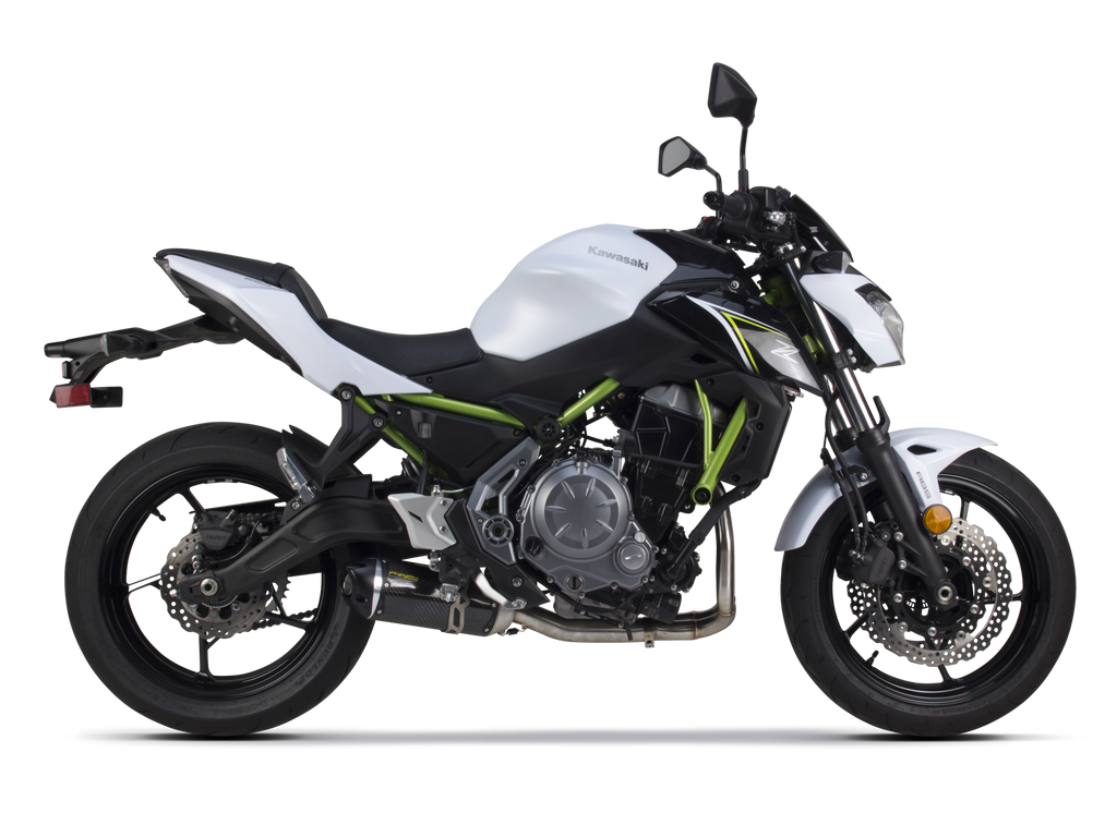 Kawasaki Z650 (2017) S1R Black Series Aluminum Full System - Part Number 005-4630106-S1B