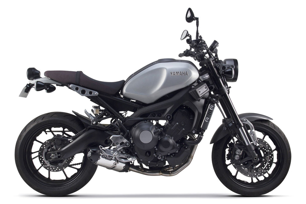 Yamaha (2015-2017) FJ-09/XSR900 and (2014-2016) FZ-09 S1R Black Aluminum Full System - Part Number 005-4170106-S1B