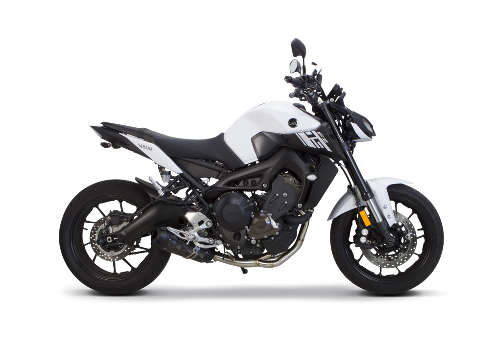 Yamaha (2015-2018) FJ-09/XSR900 and (2014-2018) FZ-09 S1R Standard Carbon Full System - Part Number 005-4170105-S1 - Two Brothers Racing - TBR