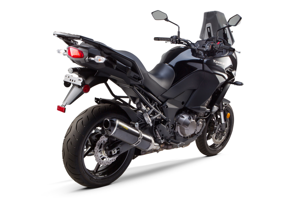 kawasaki versys 1000 s1r slip on system 2015 2018 two brothers racing. Black Bedroom Furniture Sets. Home Design Ideas