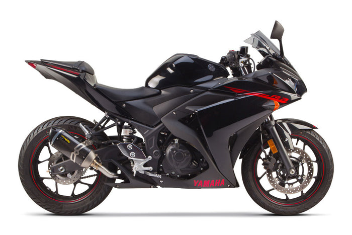 Yamaha R3 Slip-On System (2015-2020) - Two Brothers Racing - TBR