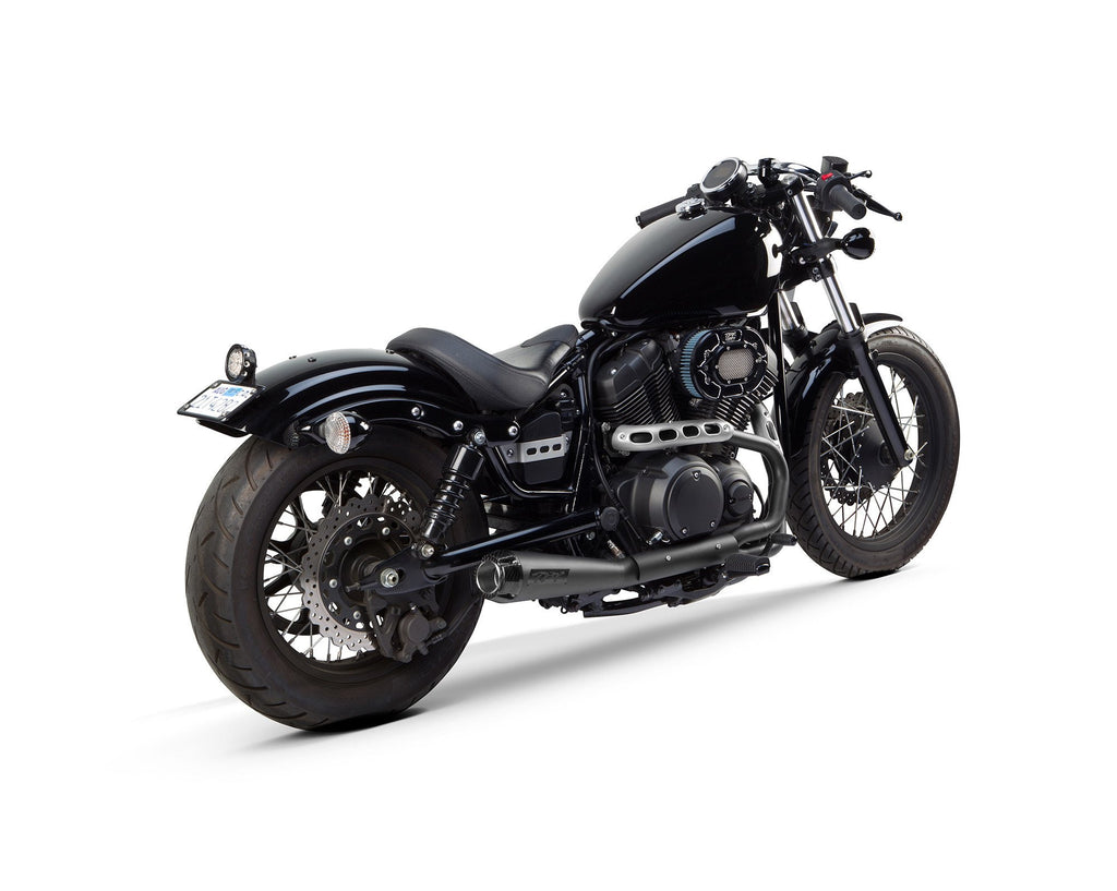Yamaha Bolt / SCR 950 (2014-2020) Comp-S Black Full System - Part Number 005-3690199-B - Two Brothers Racing - TBR
