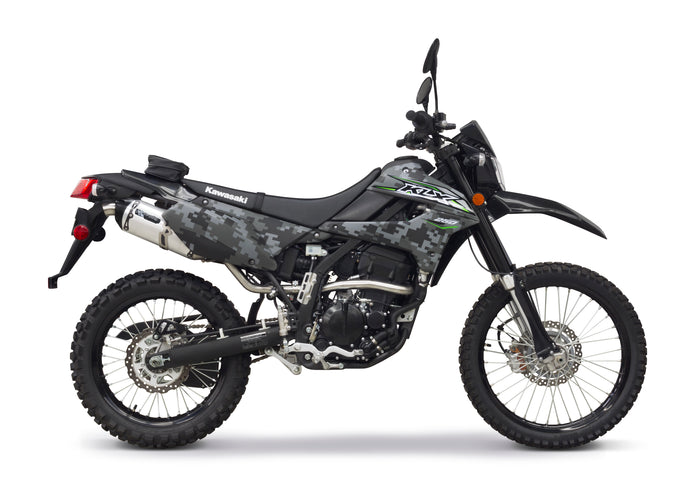 Kawasaki KLX250 Black Series S1R Full System (2018) - Two Brothers Racing - TBR