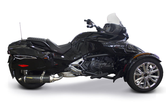 Can-Am Spyder F3T S1R Slip-On System (2015-2017) - Two Brothers Racing - TBR