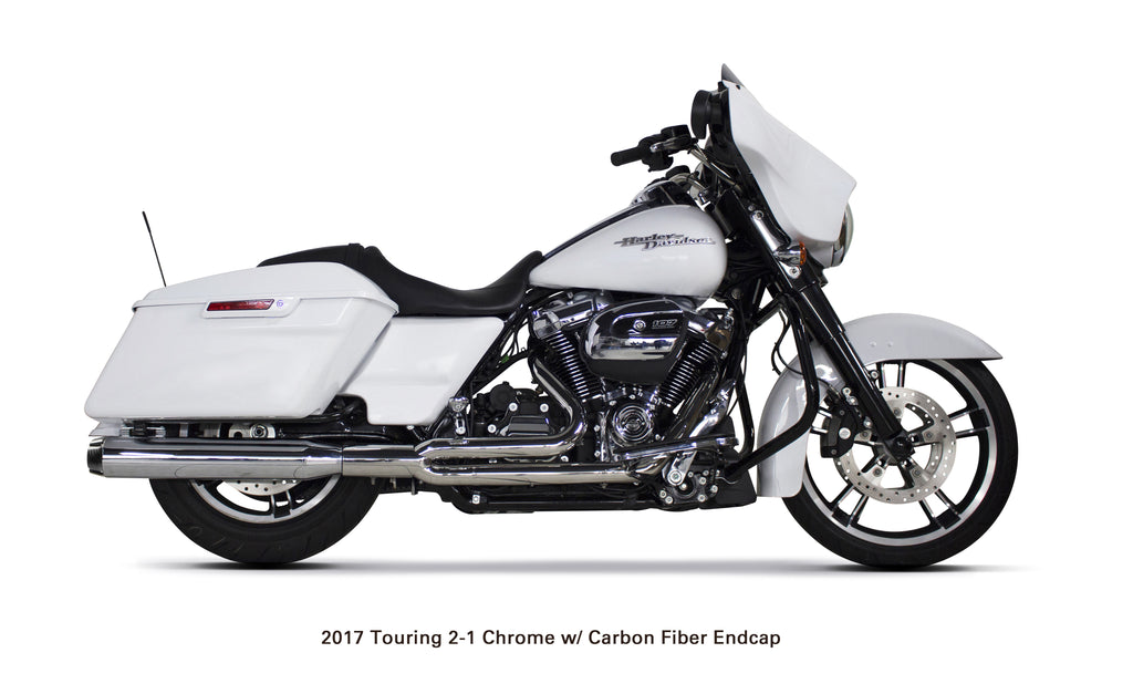 Harley Davidson Bagger / Touring 2-1 Full System (2017-18)) - Two Brothers Racing - TBR
