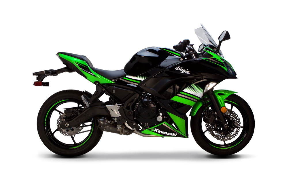 kawasaki ninja 650 s1r full system 2017 2019 two brothers racing. Black Bedroom Furniture Sets. Home Design Ideas