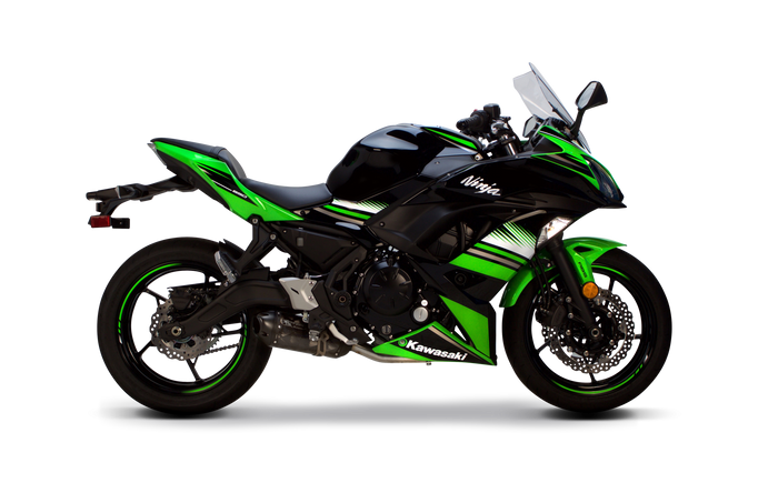 Kawasaki Ninja 650 S1R Full System (2017-2020) - Two Brothers Racing - TBR