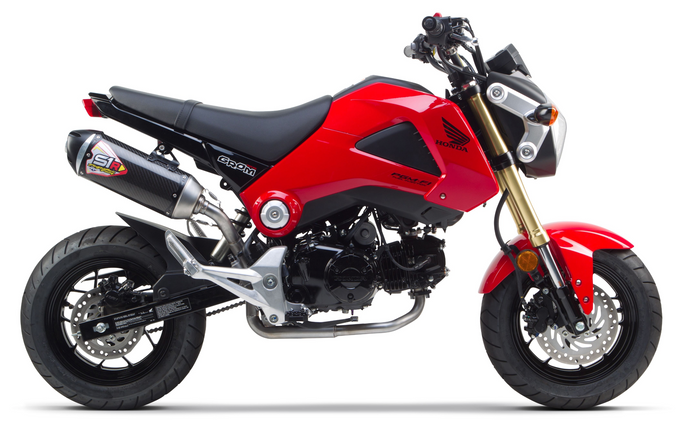 Honda Grom Full System Exhaust (2014-2016) - Two Brothers Racing - TBR