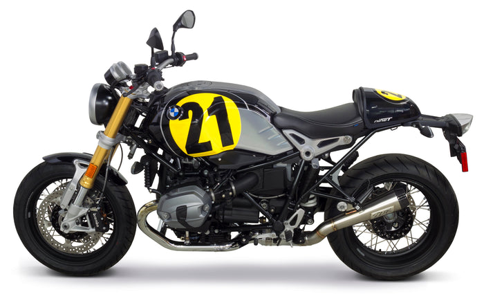 BMW R nineT Comp-S Slip-On System (2014-2018) - Two Brothers Racing - TBR