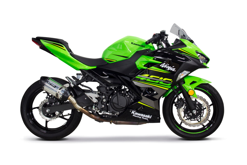 Kawasaki Ninja 400 Slip On System Twobroscom Two Brothers Racing