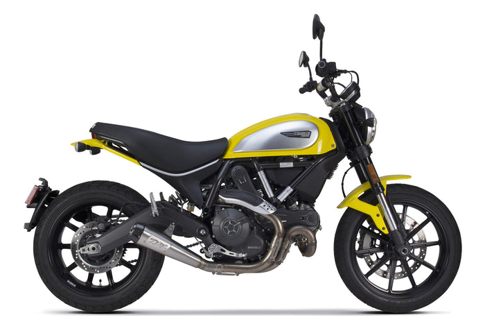 Ducati Scrambler 803 Comp Slip-On Exhaust (2015-2020) - Two Brothers Racing - TBR