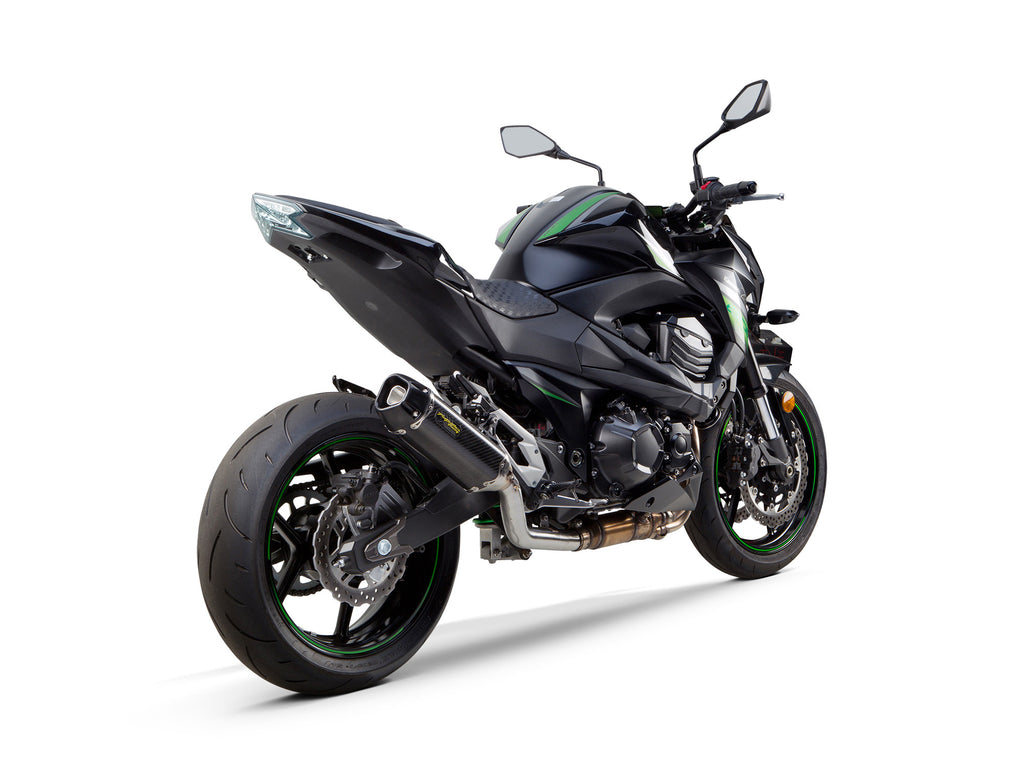 Kawasaki Z-800 Tarmac Slip-On System (2009-2016) - Two Brothers Racing - TBR
