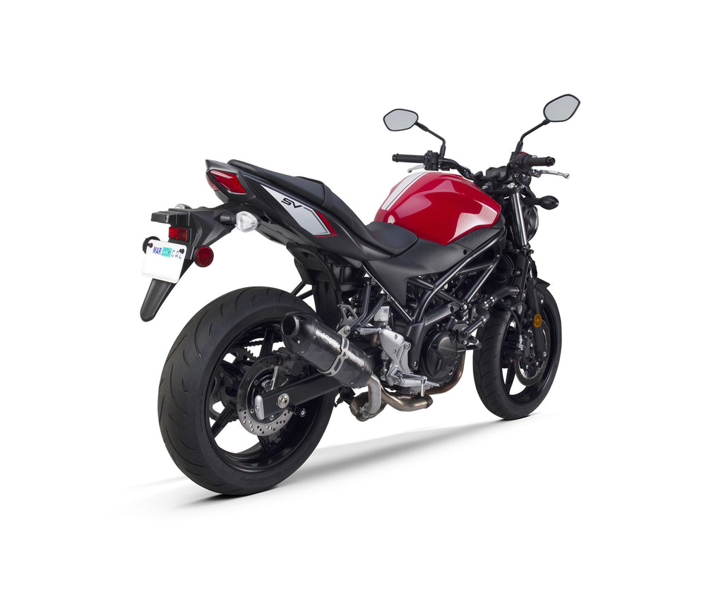 suzuki sv650 sv650s slip on systems 2017 2019 two brothers racing. Black Bedroom Furniture Sets. Home Design Ideas