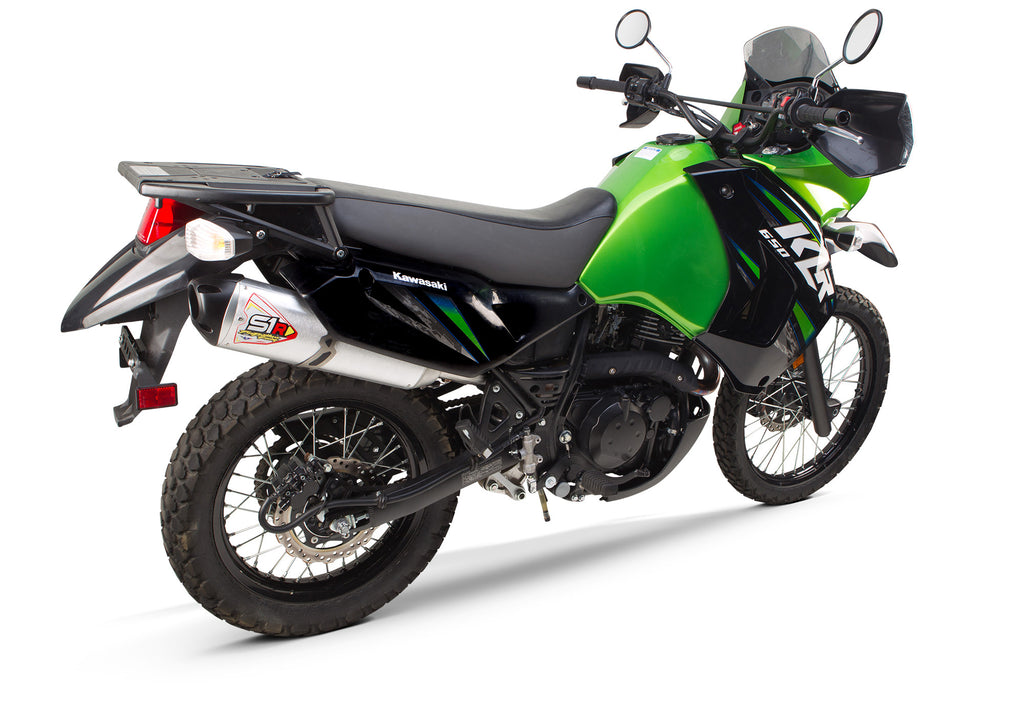 Kawasaki KLR650 S1R Slip-On System (2014-2018) - Two Brothers Racing - TBR