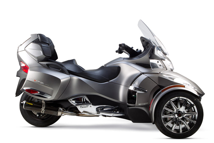 Can-Am Spyder RT S1R Slip-On System (2014-2020) - Two Brothers Racing - TBR