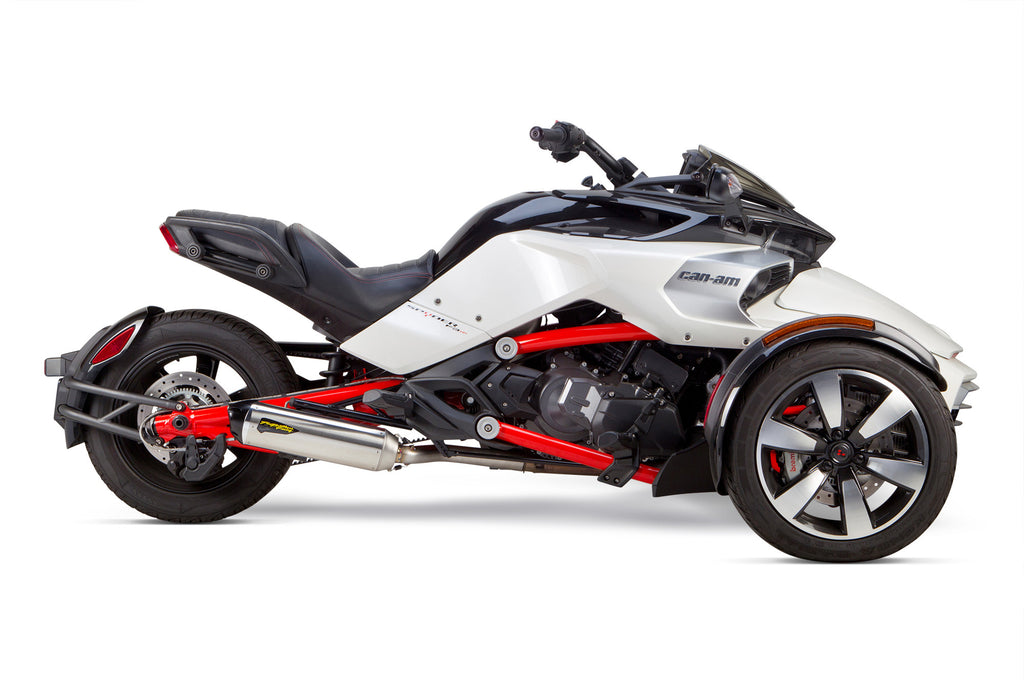 Can-Am Spyder F3/S S1R Slip-On System (2015-2020) - Two Brothers Racing - TBR