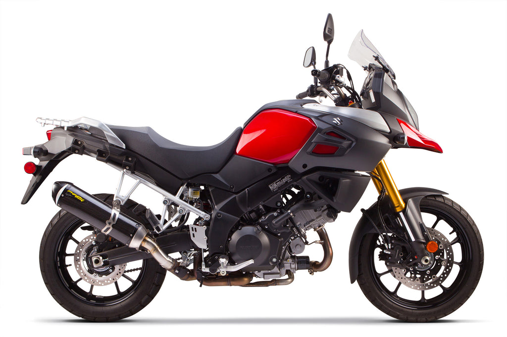 Suzuki V-Strom 1000 S1R Slip-On System (2014-2015) – Two Brothers