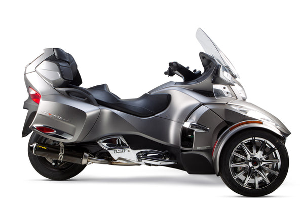 can am spyder rt s1r slip on system 2014 2019 two brothers racing. Black Bedroom Furniture Sets. Home Design Ideas