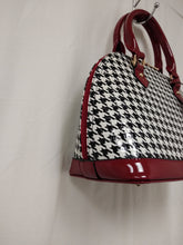 Load image into Gallery viewer, WomensRed And Black Checkered Jelly Purse