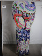Load image into Gallery viewer, Womens Plus Size Navy Blue Floral Delight Palazzo Wide Leg Pants