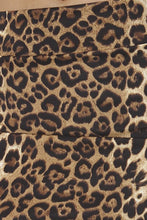 Load image into Gallery viewer, Womens Cheetah Print Skirt S, M