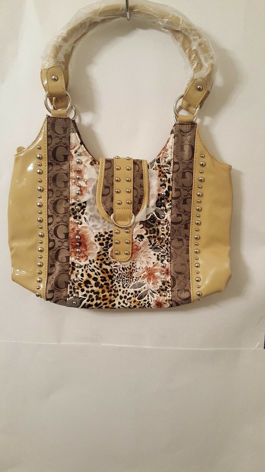 Womens Beige Evening Casual G Purse