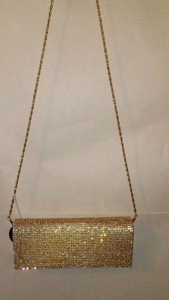 Womens Sequin Prom Evening Clutch Holiday Purse